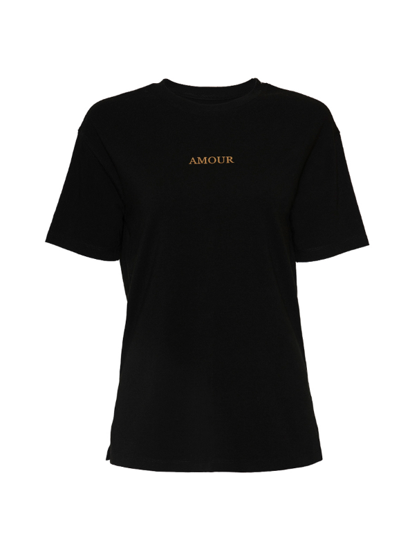 "T-shirt with print ""Amour"""