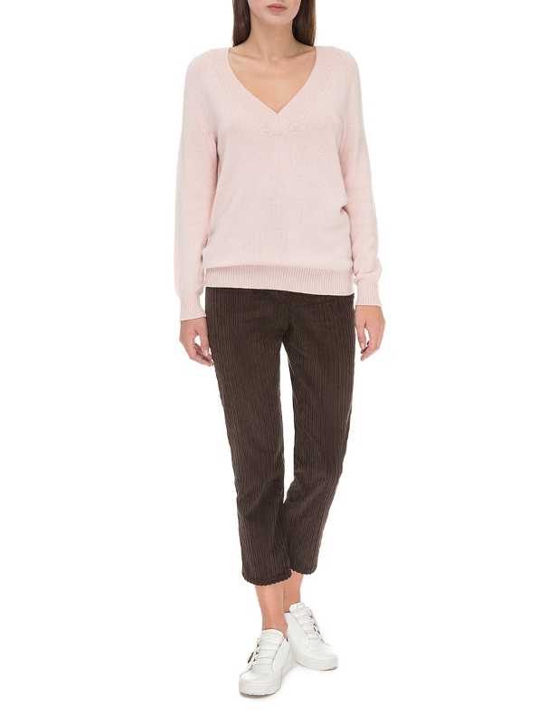 Powder cashmere sweater