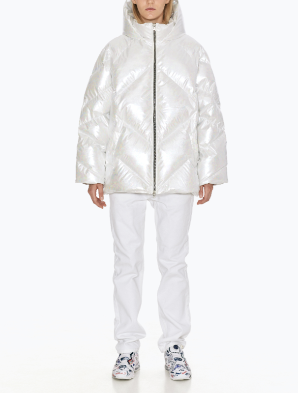 Leia downcoat white