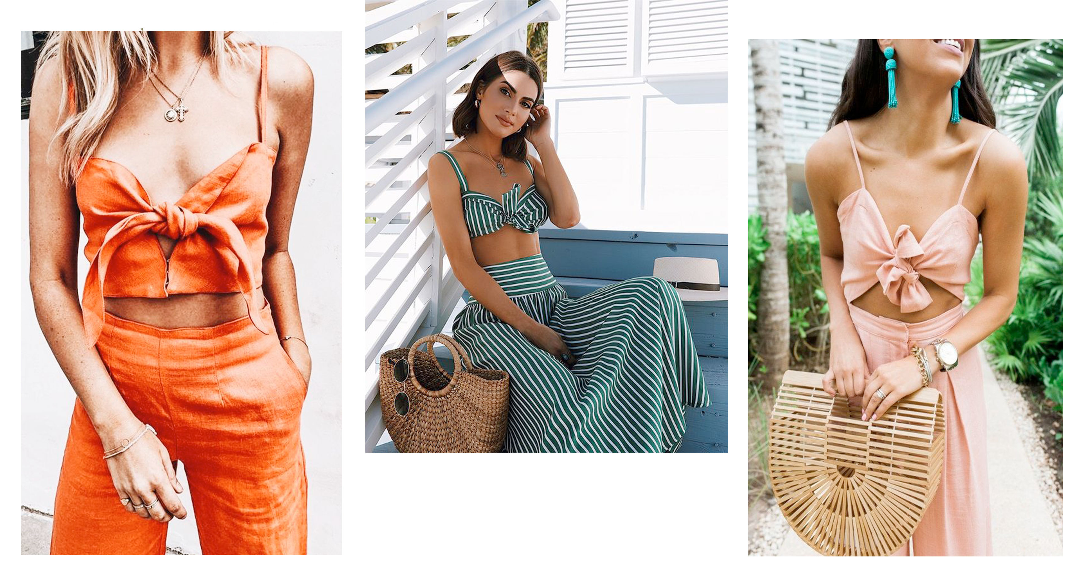 Trendy looks for your summer