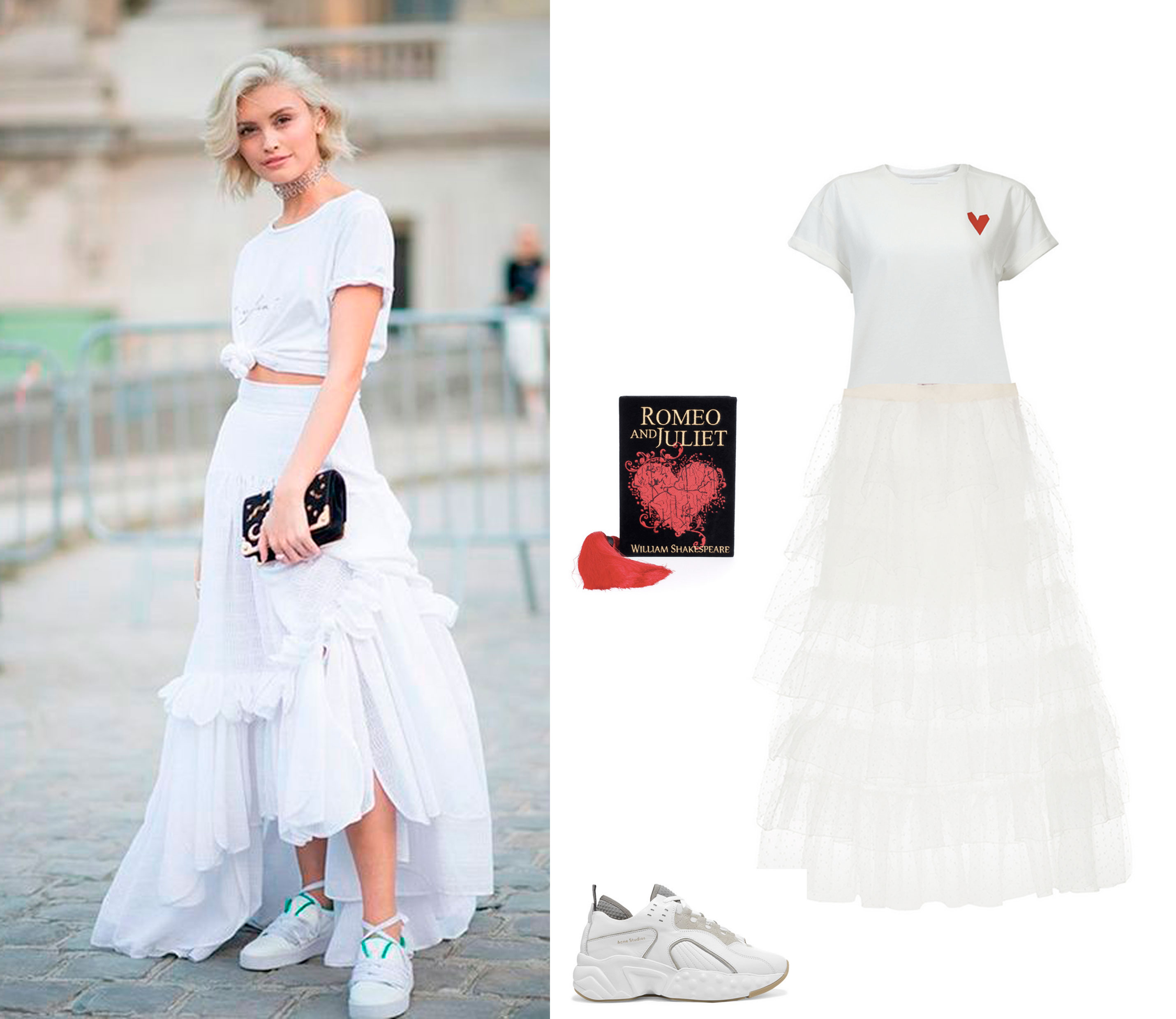 Total White summer looks