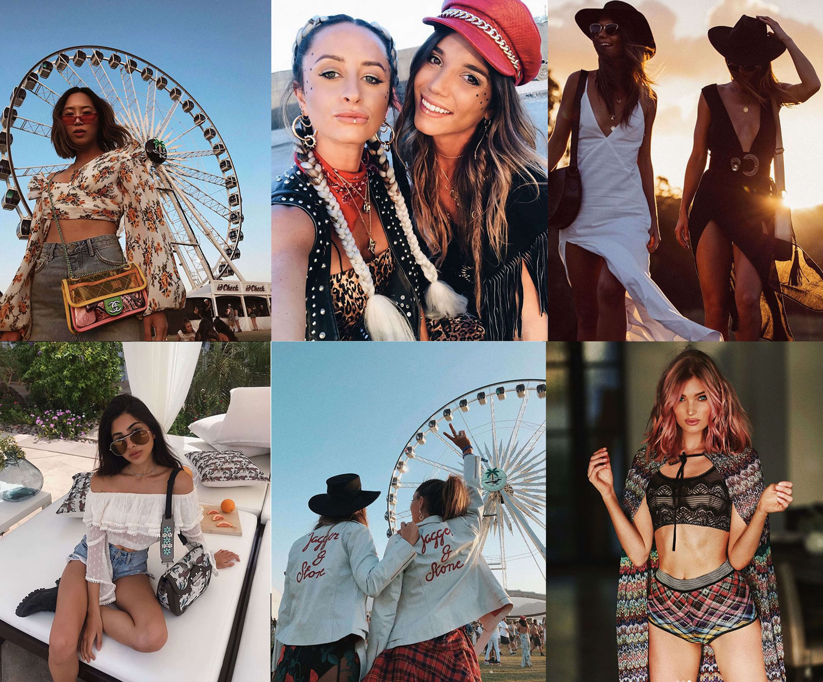How to dress on Coachella? 2018 looks from festival